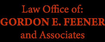 Attorney Gordon E. Feener